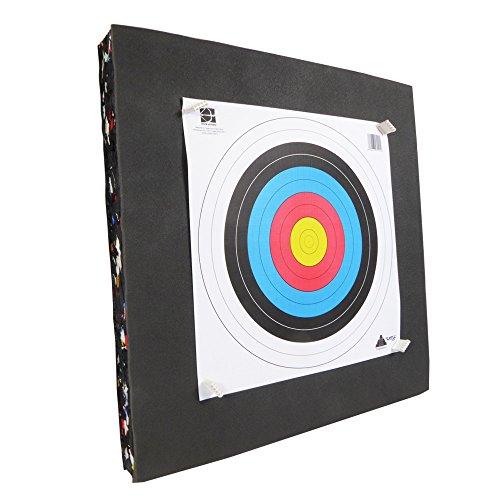 Refo –Kit de diana de espuma reciclada, 60x 60x 8cm, para tiro con arco de ocio o ballesta
