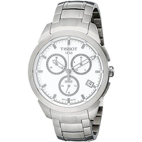 Tissot Herren Chronograph Quarz Uhr mit Edelstahl Armband T069.417.44.031.00