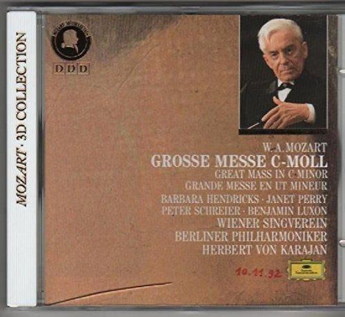 Mozart Wa-Grande Messe Ut Min.K427-B.Hendricks-Karajan-Opb