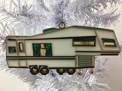 RV Fifth Wheel Christmas Tree Ornament