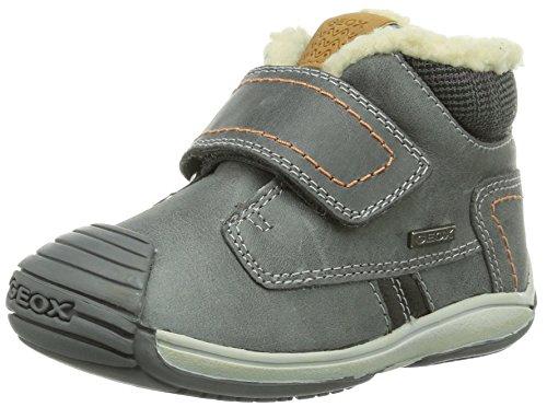 Geox B Toledo Boy, Baskets Mode bébé garçon - Gris (DK Greyc9002), 21 EU
