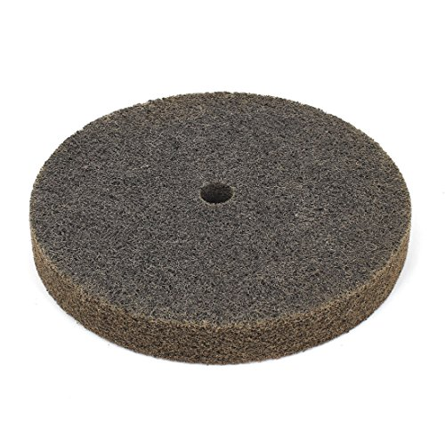 uxcell 60 8-inch x 1-inch Nylon Fiber Cylindrical Abrasives Grinding Wheel