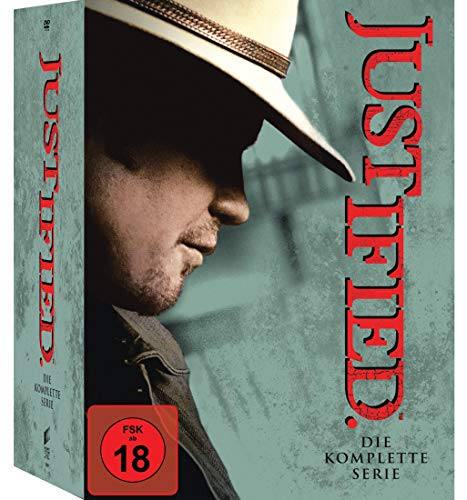 Justified - Die komplette Serie (18 Discs) [DVD]