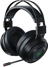 Razer Nari Ultimate Wireless 7.1 Surround Sound Gaming Headset: THX Audio & Haptic Feedback - Auto-Adjust Headband - Chroma RGB - Retractable Mic - For PC, PS4 - Black