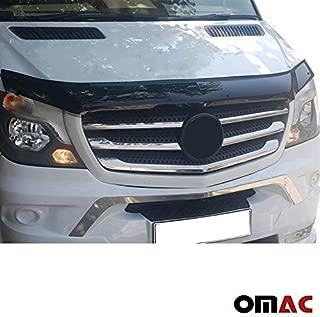 OMAC USA Front Bug Shield Hood Deflector Guard Bonnet Protector for Mercedes Benz Sprinter / 2500/3500 W906 2013-