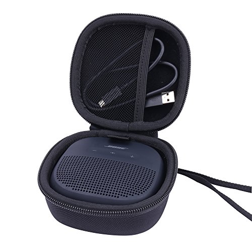 Hard Case Replacement for Bose SoundLink Micro Bluetooth Speaker Portable Wireless Speaker by Aenllosi (Black)