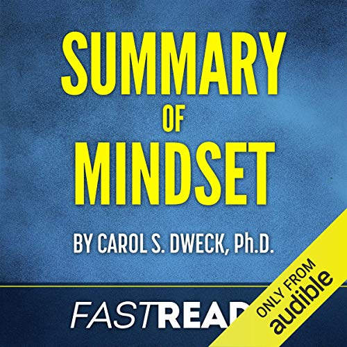 Summary of Mindset by Carol Dweck audiobook cover art