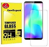 CaseExpert 2 Pack - CUBOT X19 Protector de Pantalla, Ultra Tanque Transparente Cristal 9H Cristal Templado Glass Protector de Pantalla para CUBOT X19