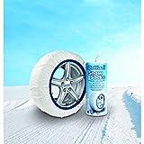 Bottari 68042: Calze da neve per auto, Taglia 71, Prodotto compatibile con tutti gli pneumatici estivi, 4 stagioni o invernali