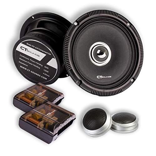 CT Sounds Full Range Component Car Lautsprecher (Strato PA 2-Wege 6,5 Zoll)