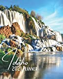 Idaho 2021 Planner: A Pretty And Simple 8 x 10 Size, January 2021 - December 2021, Weekly & Monthly Agenda, Beautiful Fall Creek Falls And Sunrise Cover Design, Organizer And Calendar