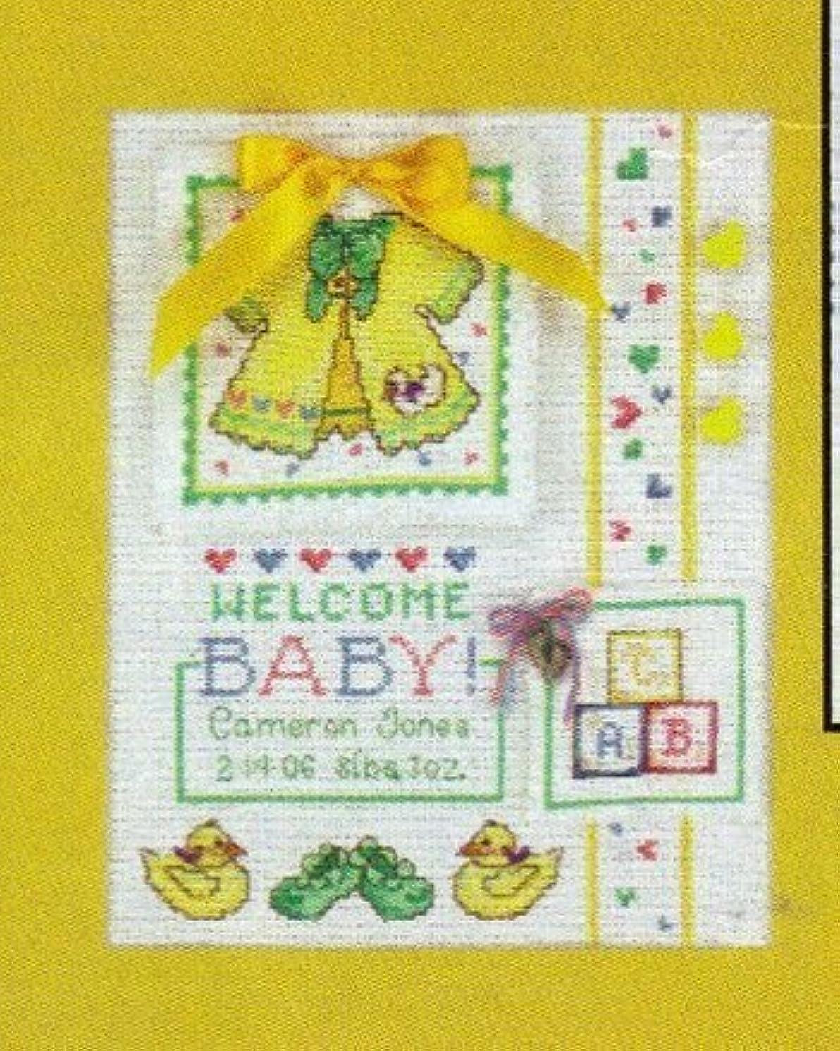 Welcome Baby - Cross Stitch Kit