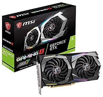 MSI Gaming GeForce GTX 1660 Ti 192-bit HDMI/DP 6GB GDRR6 HDCP Support DirectX 12 Dual Fan VR Ready OC Graphics Card  GTX 1660 TI GAMING X 6G