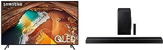 Samsung 82-Inch QLED 4K Q60 Series (2019) Ultra HD Smart TV with Samsung HW-Q60T 5.1ch Soundbar (2020)