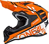 O'Neal unisex-adult off-road style 2SERIES Helmet SPYDE orange/white XL