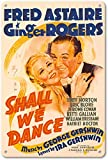 Shall We Dance Starring Fred Astaire and Ginger Rogers