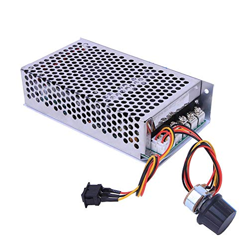 10-50V 100A 5000W DC Motor Controlador de velocidad PWM Interruptor de control Regulador Motor eléctrico reversible