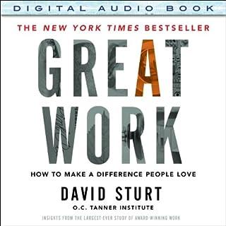 Great Work audiobook cover art