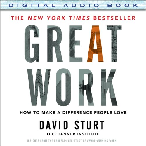 Great Work audiobook cover art