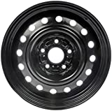 Dorman Steel Wheel with Black Painted Finish (16x6.5'/5x115mm)