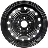 Dorman 939-106 Steel Wheel (16x6.5in.) for Select Honda Models, Black