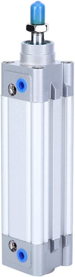 Aluminum Alloy Pneumatic Cylinder Single-Ended Rod Air Import Cy Product Piston