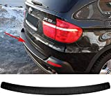 Tema4x4 Rear bumper protector scuff pad for BMW X5(70) 2010-2013 sill guard