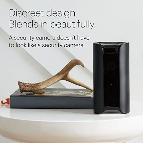 CANARY (CAN100USBK) All-in-One Indoor 1080p HD Security Camera with Built-in Siren and Climate...