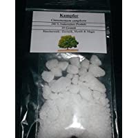 Alcanfor, 25 g (100 % natural), sahumerio para magia, esoterismo y misticismo