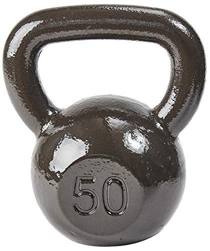 BalanceFrom CAST Iron Kettlebell 50LB