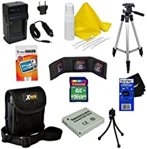 Ideal Accessory Kit for Canon PowerShot ELPH 310 HS - Includes: 16 GB memory card, High Capacity NB-4L Rechargeable Replacement Battery, AC/DC (home/car) Rapid Battery chatger, 50