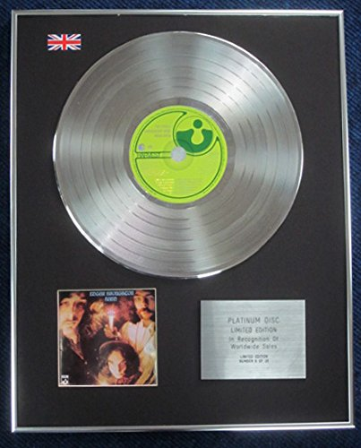 Edgar Broughton Band–Édition limitée CD platine LP Disques–Wasa Wasa