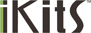 iKits European plug adapter to USA, EU to US Travel Plug Adaptor, USA Input for American, Canadian, Japanese, etc. Grounded Pin International Plug Charger (Type C) White
