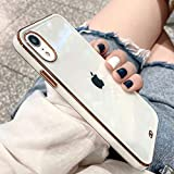 OWM iPhone XR Case Clear Silicone Transparent Back Bumper