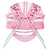Dream On Me Karley Bassinet in Rose