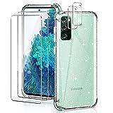 YIRSUR Hülle Kompatibel mit Samsung Galaxy S20 FE/S20 FE