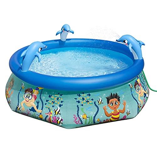 H20G0! Underwater Oasis Spray Pool