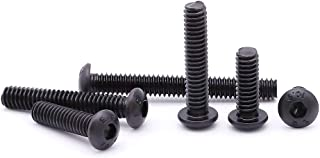 Zylinderschraube ISK 1//4-20 UNC x 1 1//4 schwarz Socket Cap Screw Steel scl