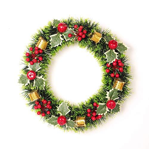 Garland Decoratie/Kerst Kran, Kerst Voordeur Decoratie, Garland met Ornament Deur raamdecoratie Deur opknoping