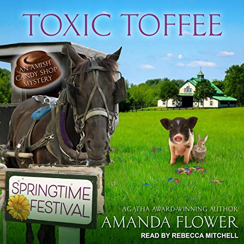 Toxic Toffee audiobook cover art