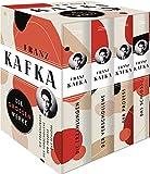 Franz Kafka, Die großen Werke (Die Erzählungen - Der Verschollene - Der Prozess - Das Schloss) (4 Bände im Schuber)