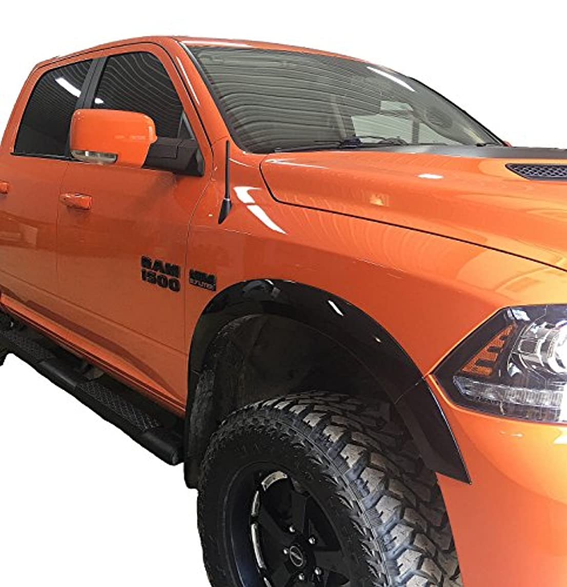 AntennaMastsRus - The Original 6 3/4 INCH is Compatible with Dodge Ram Truck 1500 (2009-2019) - Short Rubber Antenna - Reception Guaranteed - German Engineered - Internal Copper Coil