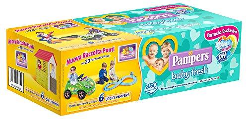 Pampers Baby Fresh Salviettine - Pacco da 1 x 350 Pezzi