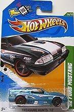 2012 Hot Wheels Treasure Hunt '92 Ford Mustang Teal/White #14/15