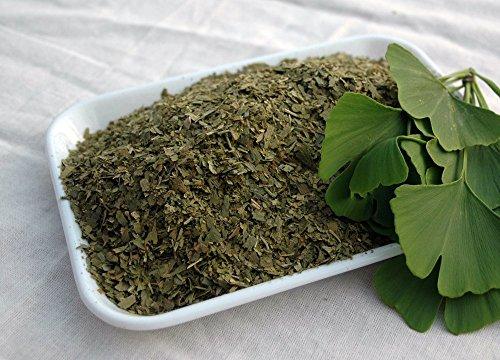Naturix24 – Ginkgoblättertee, Ginkgoblätter geschnitten – 500g-Beutel