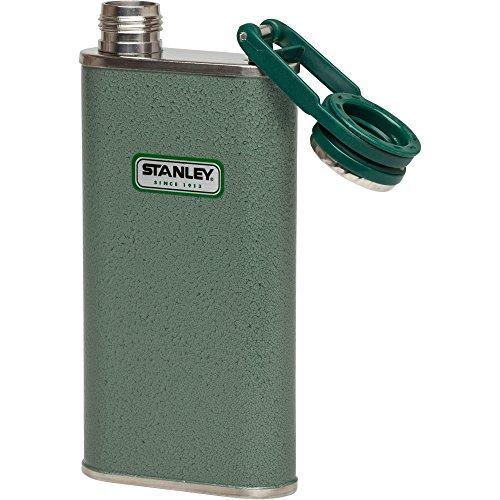 Stanley Classic Flasque, Mixte, 10-00837-045, Vert martelé, 8-Ounce