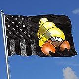 Elaine-Shop Bandiere da Esterno Usurate Bandiera USA Cancro Costellazione 1 4 * 6 Ft Bandiera per Arredamento casa Appassionato di Sport Calcio Pallacanestro Baseball Hockey