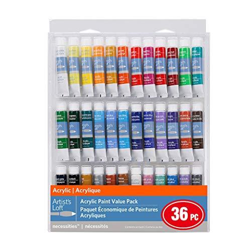 Artist's Loft Acrylic Paint Value Pack 36 Piece