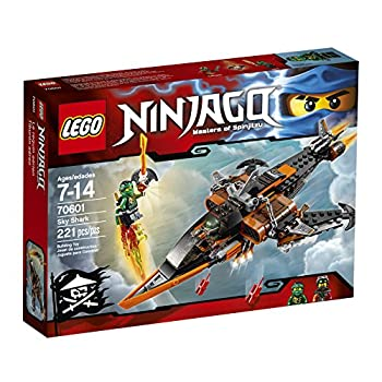 LEGO Ninjago Sky Shark 70601 Building Kit  221 Piece