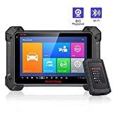Autel MK908 Automotive Diagnostic Scanner Tablet - MaxiCOM MK908 Advanced Car Diagnostic Tool ECU Coding with Full Bi-Directional Testing for all Car System OE-Level Dianoses (Upgraded of MS908 MK808)